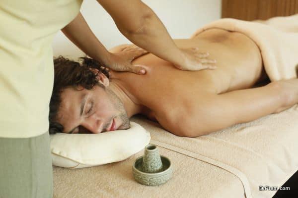 high-end luxurious spa