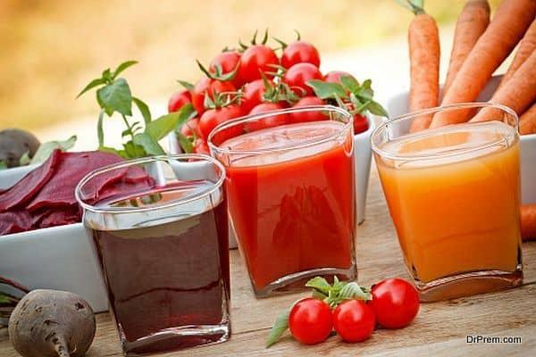 juice preparation sessions