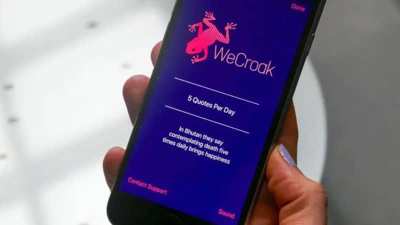 WeCroak App