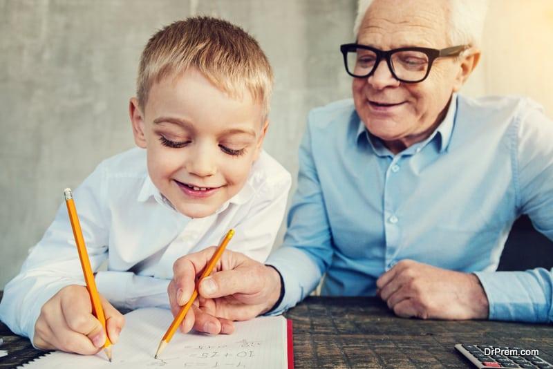 brain development in kid
