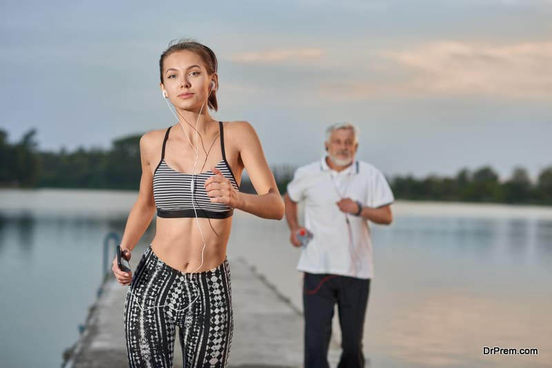 regular physical exercise can bring changes in specific bacteria