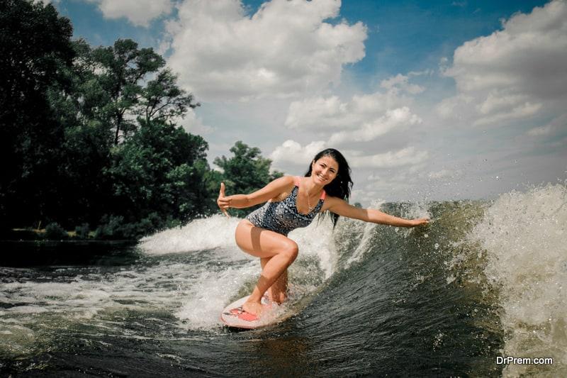 Top water adventures