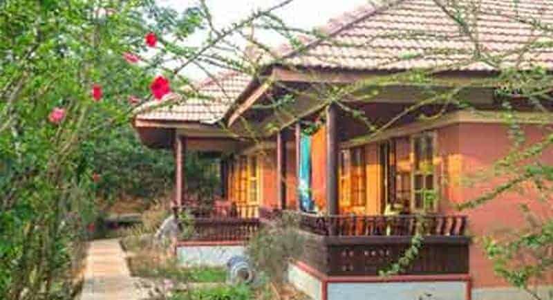 Ayurveda Yoga Villa in Kerala.