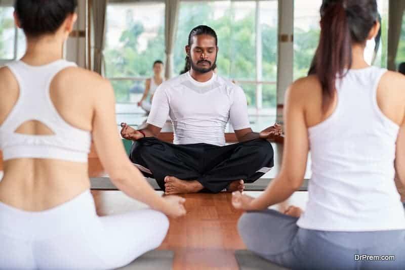 Indian-yoga-instructor