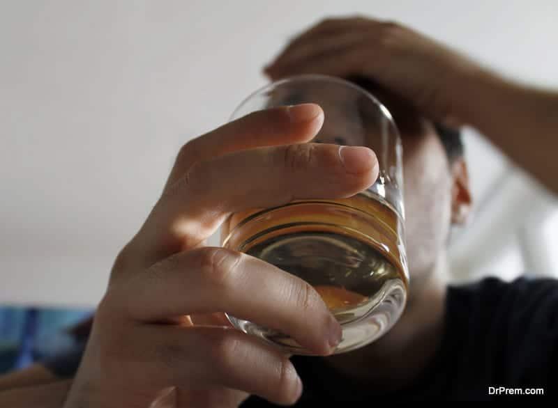 depressed alcoholics