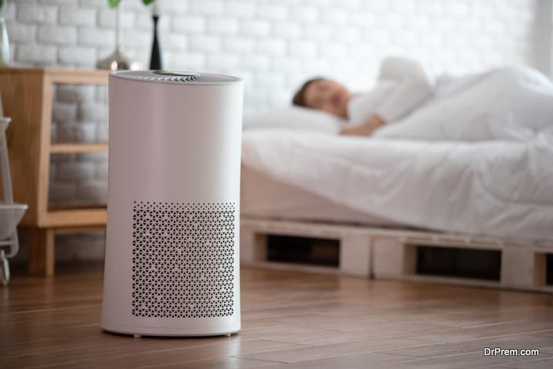 Home wellness is getting more attention with air-purifiers