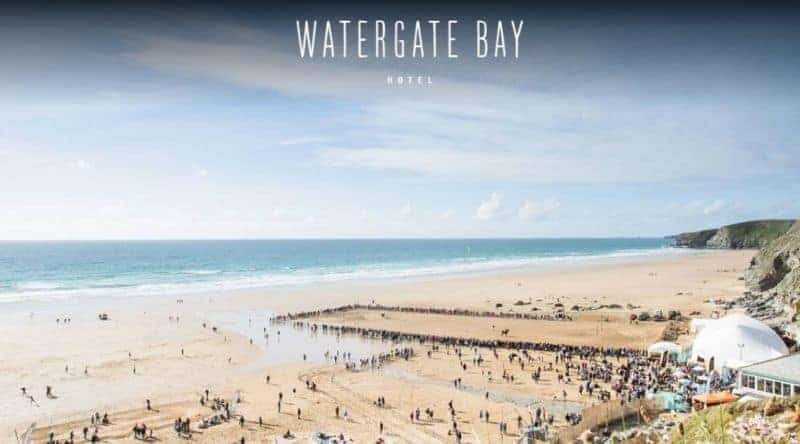 Watergate Bay Hotel, Cornwall