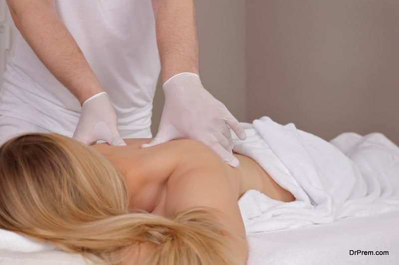 contactless massage