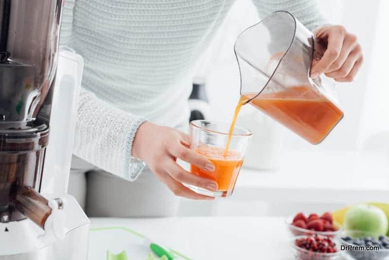 fruit detox drink