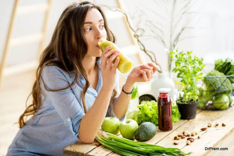 vegetable detox drink