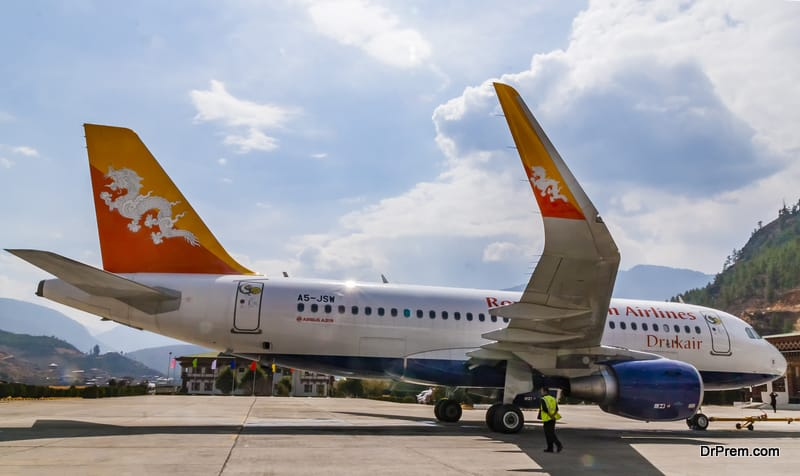 Drukair - Royal Bhutan Airlines Airplane