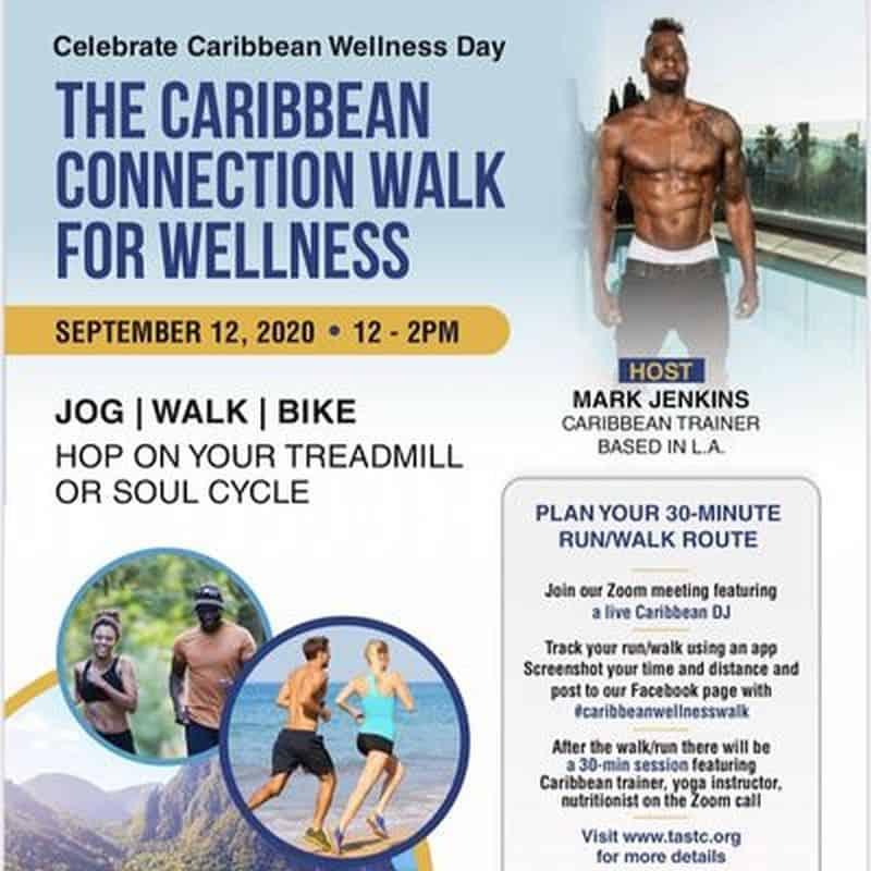 Caribbean Wellness Day on September 12