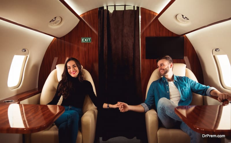 High-end travelers are taking luxury wellness trips in private jets