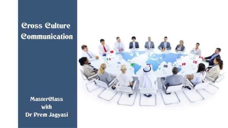 Cross culture communication masterclass with Dr Prem Jagyasi