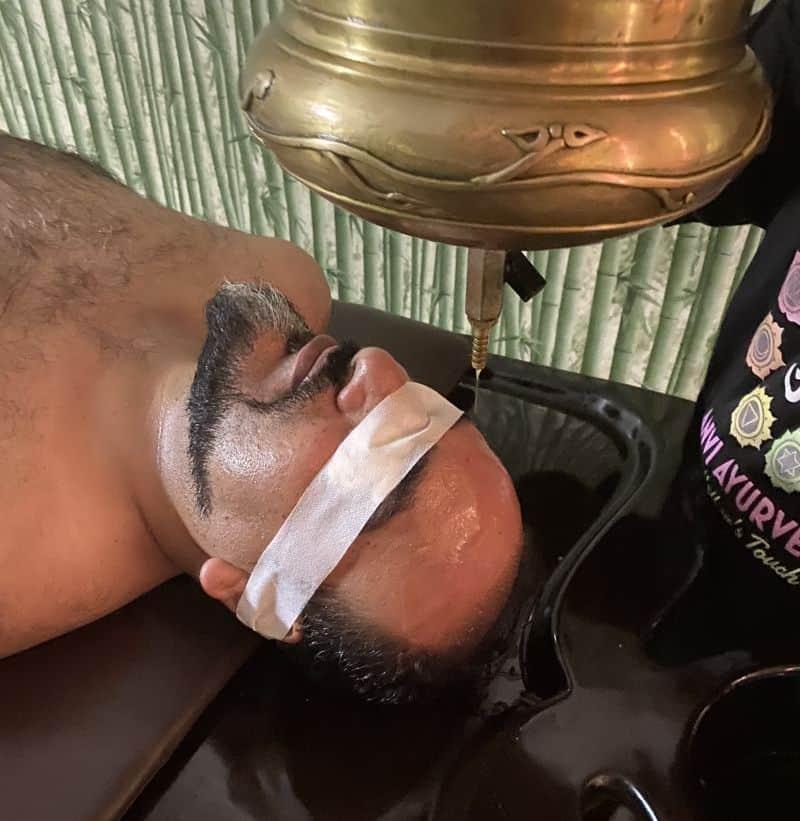 Dr. Prem Shirodhara treatment