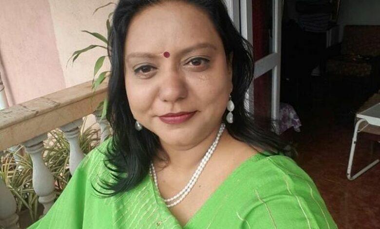 Dr. Renuka Yadav, the founder of Anvi Ayurvedic School, Goa
