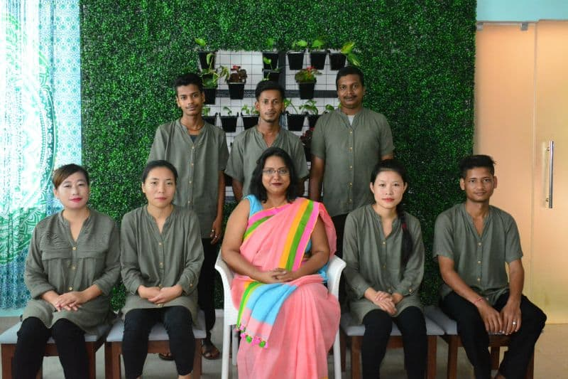 Dr. Renuka Yadav with her team