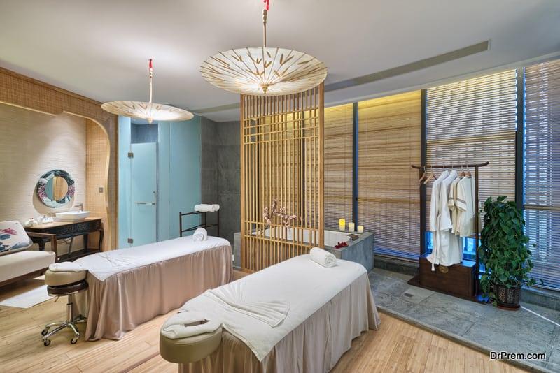 Luxury Spa facilities