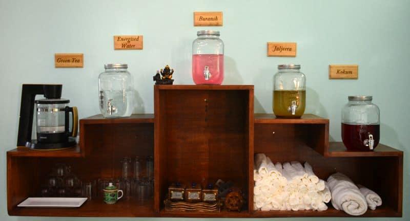 organic and chemical-free resources at Anvi Ayurvedic School