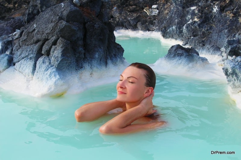 curative waters  create the best ambience for outdoor spas