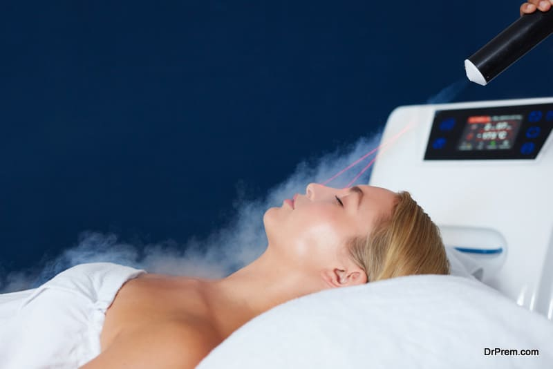 Touchless Cryotherapy