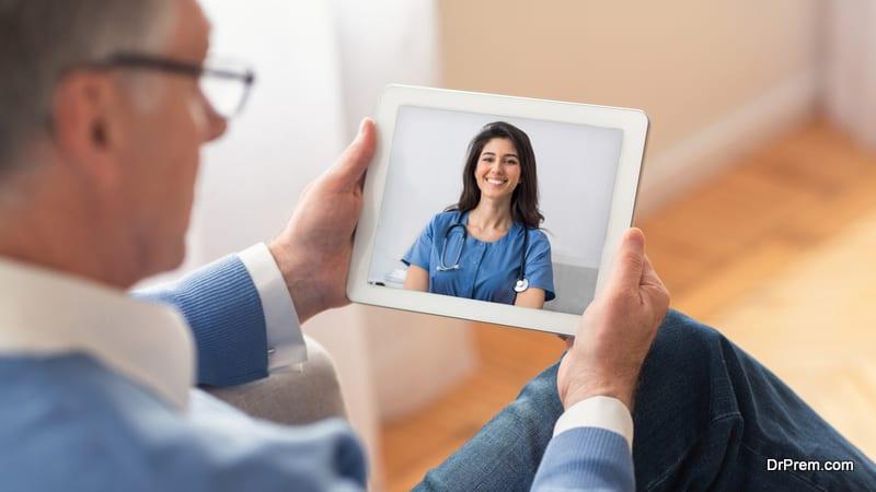 online healthcare for elderly