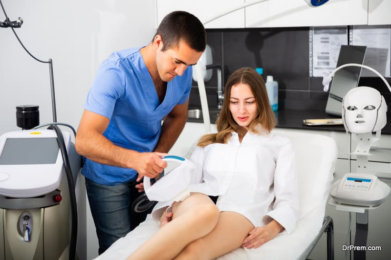 skin treatment using technology