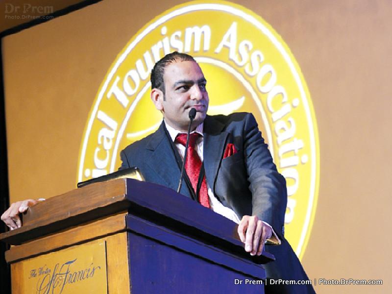 Dr.-Prem-delivering speech
