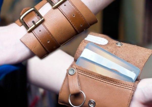 Leather Wrist Wallet 1