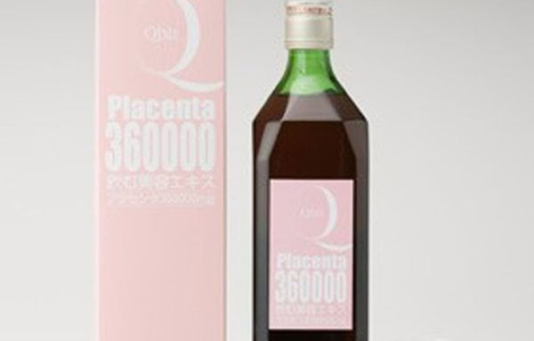 Placenta Drink is a combination of jelly drink and pig placenta