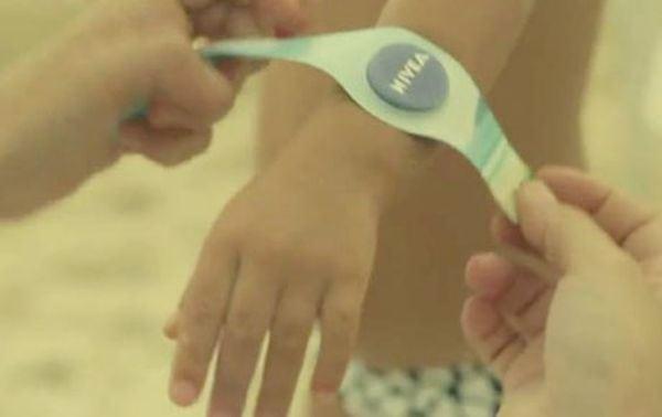 Nivea Ad Print Wristband