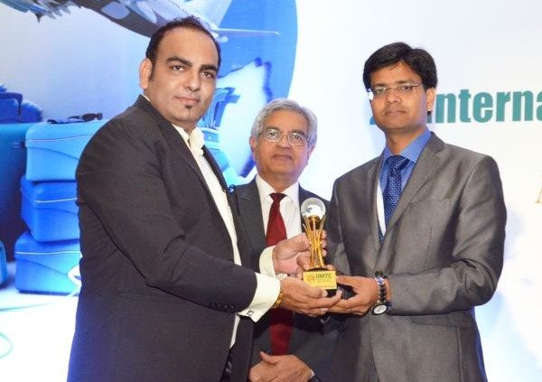 Dr Prem Recieving Award in Delhi India