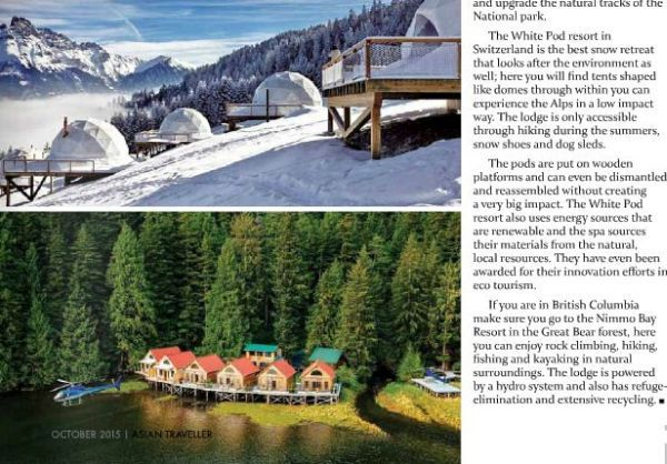 Dr Prem's Articles in Asia Traveller Magazine (9)