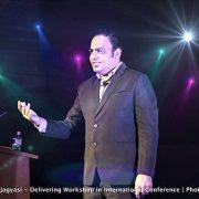 Dr Prem Jagyasi - Delivering Work in International conference