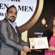 Dr Prem Jagyasi was felicitated with the Times 'Power Men' Award