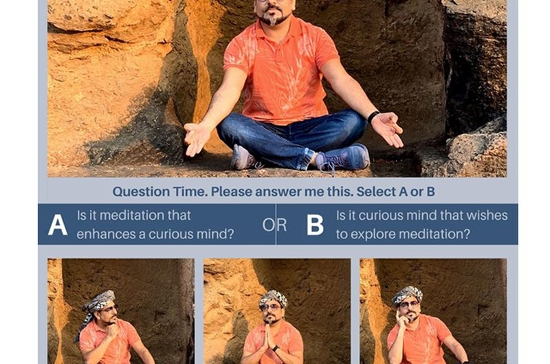two questions struck my mind on curiosity and meditation