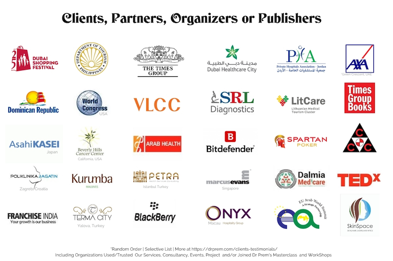 Selective Clients Partners Organizers Sponsors Logo Showcase LR2